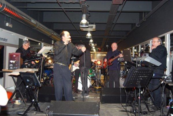 concert des Serpents Noirs  du 17  fevrier 2013  a Herstal