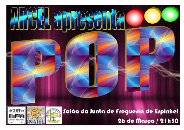 """Grupo Coral Jovem e Escola de Música apresentam """"POP"""""""