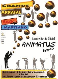 Animatus Band em estreia anima Baile de São Martinho