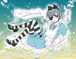 Cosplay de Shieru in Wonderland =3