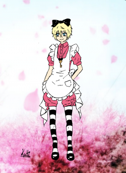 Cosplay d'Alois in Wonderland ! <3