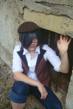 "Cosplay de Ciel version ""Jack the Ripper"""