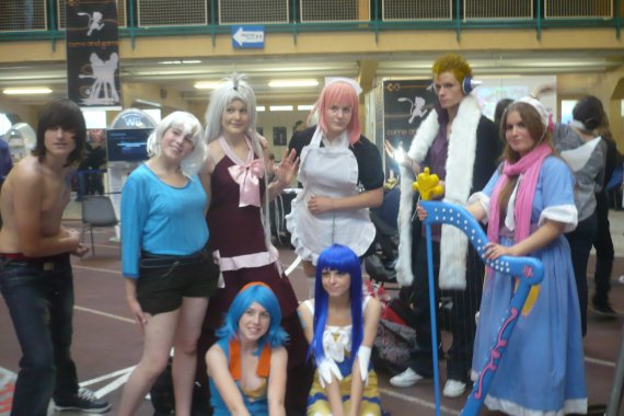 Cosplay de Virgo, du manga Fairy Tail !!