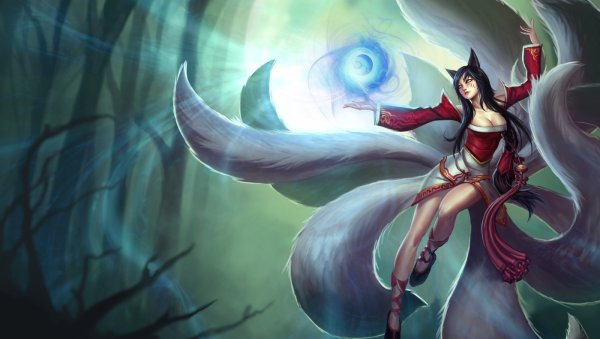Cosplay de Ahri, de League Of Legends