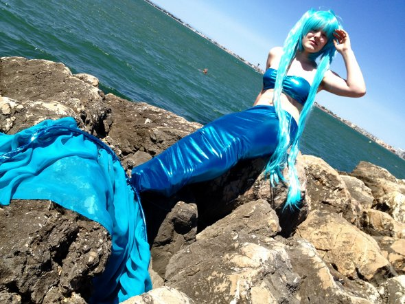 Cosplay de Miku Mermaid
