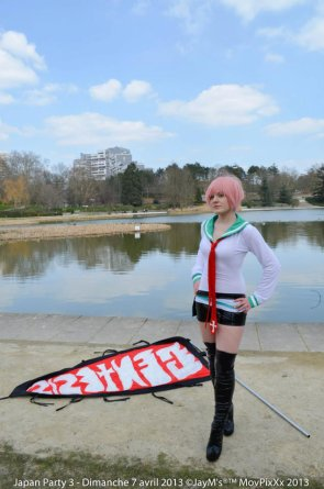 Cosplay de Simca V2, Air Gear