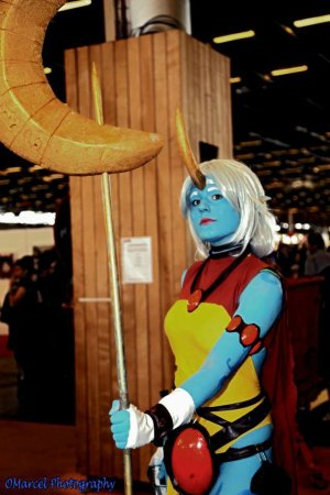 Cosplay de Soraka, de League Of Legends !