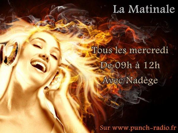 LA MATINAL DE NADEGE SUR PUNCH-RADIO