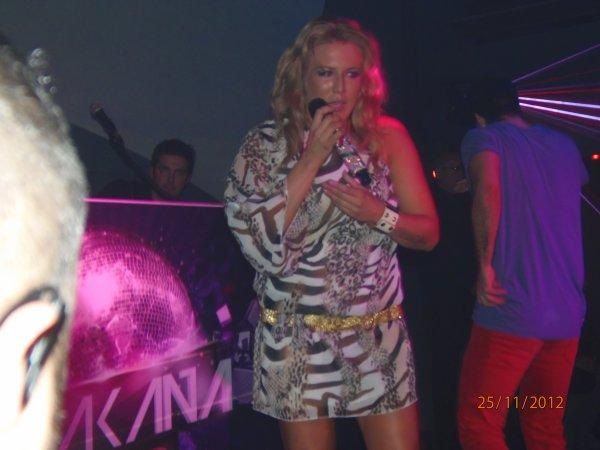 Cascada show live au Chakana Club a Narbonne le 24.11.12