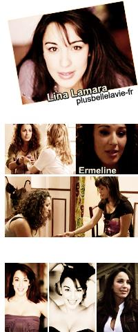Lina Lamara interprète le personnage «d'Ermeline» la soeur de Christian Bourdarie qui vient de sortir d'une Secte dès le lundi 20 septembre 2010. Voici en exclusivité son interview.