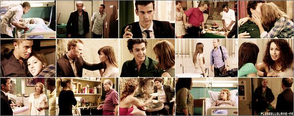 .   Découvrez la suite des intrigues jusqu'au mardi 28 septembre. . Luna est dans le coma à l'hôpital. Léo est avec Rudy. Il est obligé de l'amener au Commissariat car il a tiré sur sa mère. Léo doit se réveiller afin d'innocenter Rudy, sinon il ira en prison. Léo a peur que Luna ait perdu la mémoire après le choc, mais ce n'est pas le cas. Sandra est interrogée par Florian suite à l'enregistrement que Rudy et Luna ont fait dans lequel elle avoue le meurtre de ses parents. Roland veut absolument gagner les élections du quartier. Il rencontre Samir, un traiteur hallal. Roland et Sébastien se lancent un nouveau défi : manger le plus de charcuterie possible, mais Roland fait une indigestion après avoir mangé plus d'un kilo de nourriture. Barbara en veut toujours à Abdel d'avoir embrassé Sybille à la Skin Party. Elle décide d'embrasser Romain devant lui pour le rendre jaloux. Barbara décide de pardonner son infidélité à Abdel. Rudy se souvient que Denilson était dans le Hall de son immeuble juste avant l'accident de Luna. Il pense que c'est Denilson qui a changé les balles avec lesquelles il a tiré sur Luna. Sandra retrouve Denilson dans Marseille. Il lui fait croire qu'il va se dénoncer par amour pour elle. Sandra ne veut pas que l'homme qu'elle aime aille en prison. Elle décide de se dénoncer à sa place à une seule condition : Denilson doit venir la voir en prison. Sandra veut que leur amour continu. Blanche fait la connaissance de Romain, le neveu de Sébastien. Il lui fait croire être l'employé de Sébastien. Blanche trouve Romain très sympathique. Au Commissariat, Sandra veut faire une déposition : elle s'accuse du meurtre de ses parents, de Christian et de Vadim. Léo pense que Sandra a tué ses parents, mais il est certain que Denilson est le coupable des deux autres meurtres. Ermeline sait que Sandra s'accuse à la place de Denilson. Elle demande à Alix de l'aider à coincer Denilson. Mr.Lasalle contact Estelle et Djawad car il a besoin des services de Fideleoupas.com
