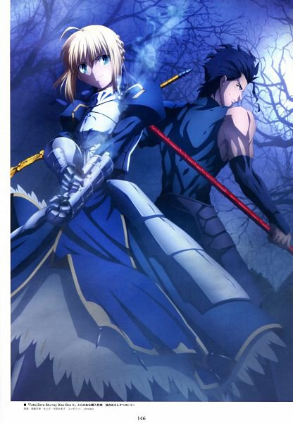 Fate / Zero - Lancer and Saber $)