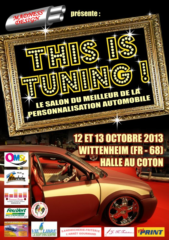 "3EME MEETING MADNESS' DESIGN : SALON ""THIS IS TUNING !"""