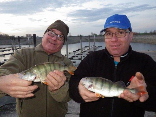 Sortie pêche entre père et fils
