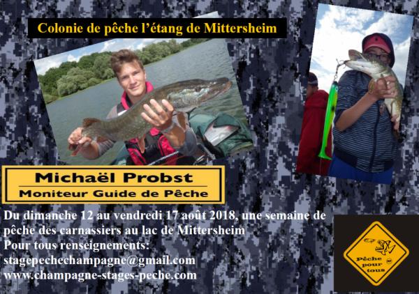 Colonie de pêche à Mittersheim
