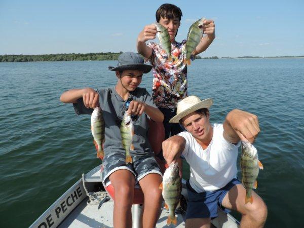 Pêche au Der