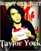 taylor york anniversaire