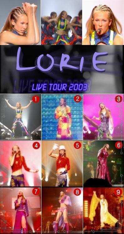 Quel est votre tenue de concert préférer en 2002