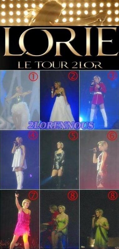 Quel est votre tenue de concert préférer en 2008