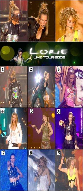 Quel est votre tenue de concert préférer en 2006