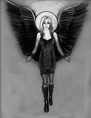 Dessin Representant La Mort un dessin représentant peyton de la série oth - tout ce ke j'aime y est.