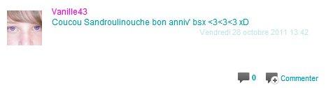JOYEUX ANNIVERSAIRE. ♥