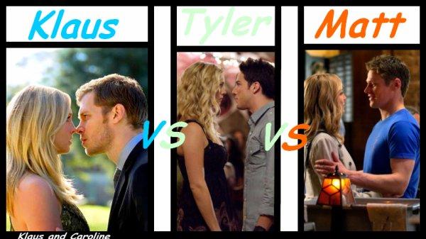 Alors vous préférer caroline avec qui ??? Perso je la prefere avec Klaus