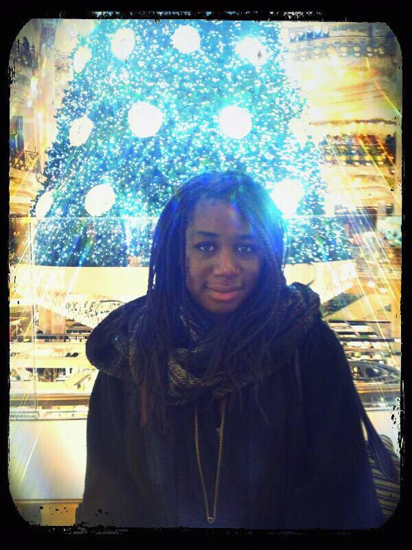 Noël de galerie lafayette