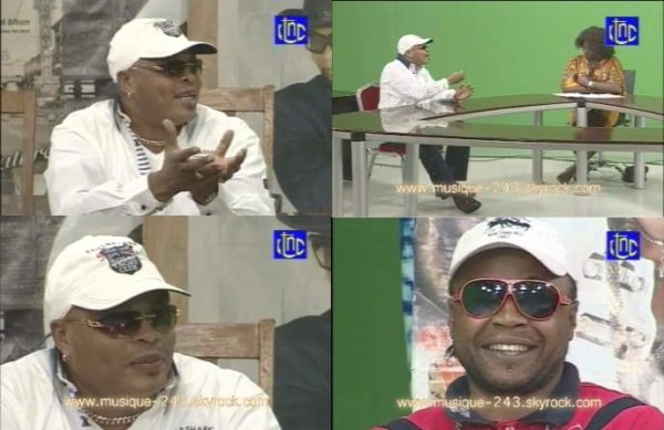 "Jb Mpiana ""moto pamba"" dans Karibu varietes du 29 janvier 2012"