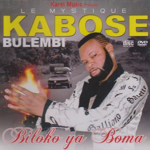 "Kabose Bulembi presente son opus ""biloko ya boma"""