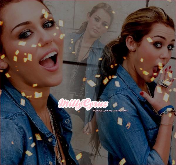 . Découvre la chanteuse et actrice Miley Cyrus sur MillyCyruz.skyrock.com.