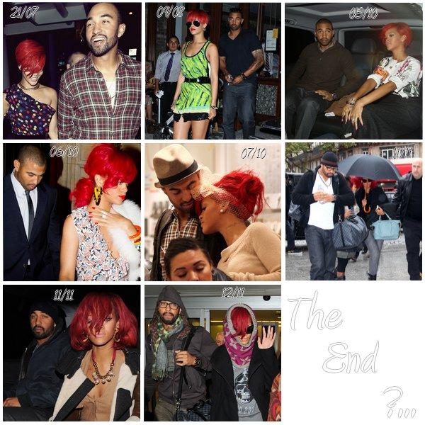 --  Robyn Rihanna Fenty & Matthew Ryan Kemp : La fin ...   --