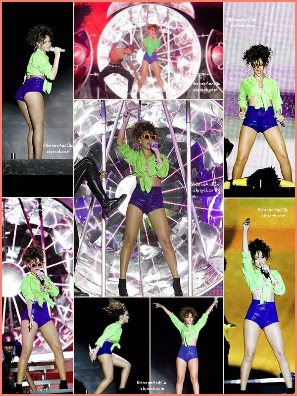 -- 15 Août 2011 : Rihanna était présente au féstivale On The Beatch en Finlande dans la ville d'Helsinki.. --
