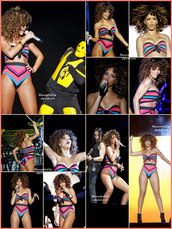 -- 18 Août 2011 : Rihanna était à-nouveau présente au féstivale Bergen Calling en Norvège dans la ville de Bergen.. --