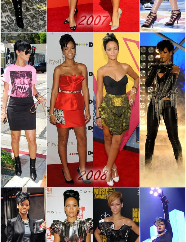 - - Découvrez l'évolution du style de Rihanna sur RihannaAndCie - -