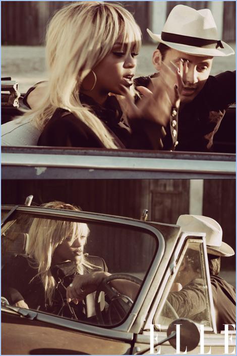 -- Rihanna pose pour le magazine ELLE US.. --