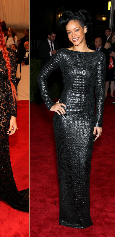 - - Rihanna aux Costume Institute Gala : 2009 / 2011 / 2012 - -