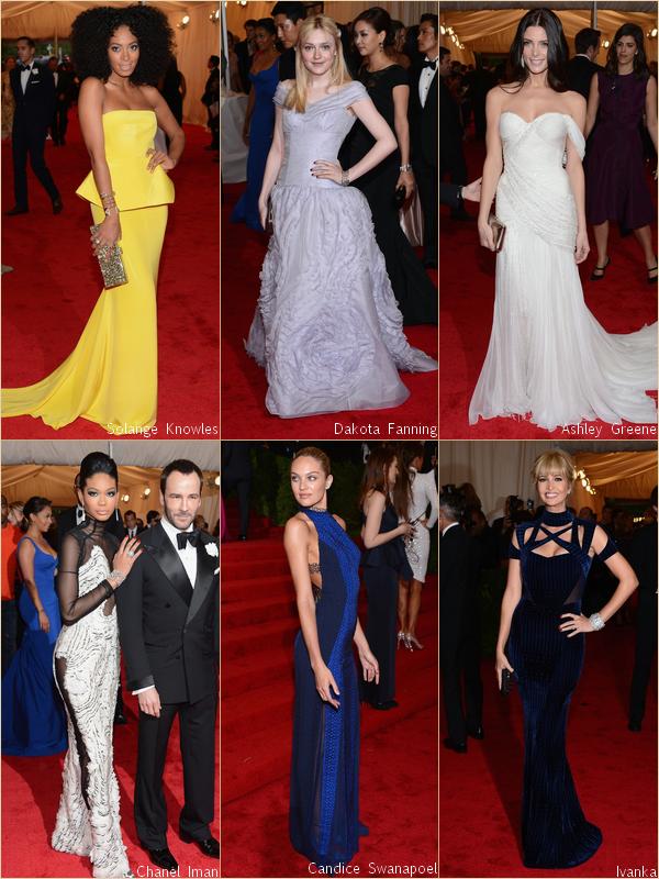 - - Costume Institute Gala 2012 : Red Carpet par RihannaAndCie  (Part. 1/3)  - -