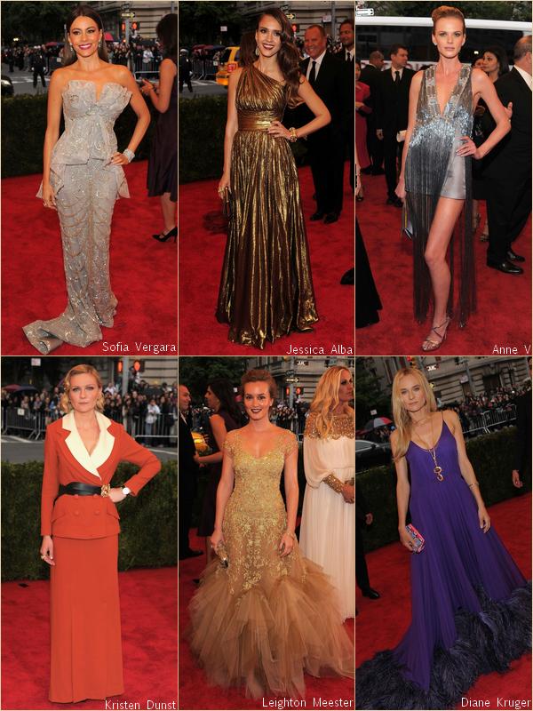 - - Costume Institute Gala 2012 : Red Carpet par RihannaAndCie  (Part. 2/3)  - -