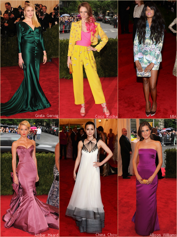 - - Costume Institute Gala 2012 : Red Carpet par RihannaAndCie  (Part. 3/3)  - -