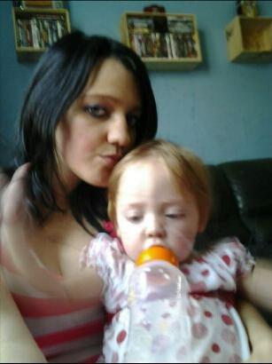 Ma fille et moi je t aime mon bébé♡♥