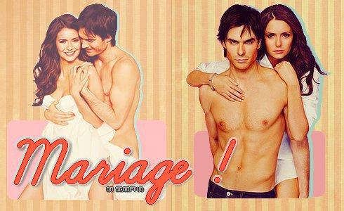 MARIAGE ?