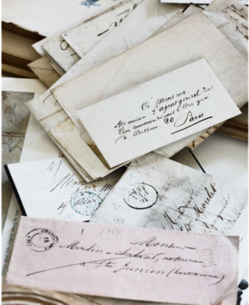 Une lettre...