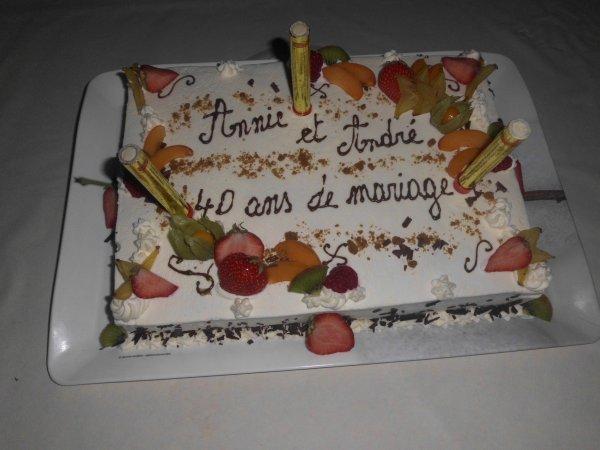 ☼★☼★☼ noces d'emeraudes pour ANDRE &  ANNY ☼★☼★☼