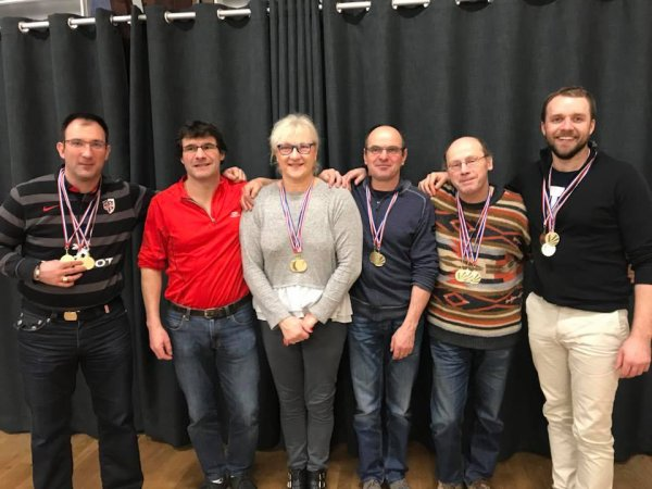 Championnats départementaux masters à saint florentin le samedi 03 février en soirée