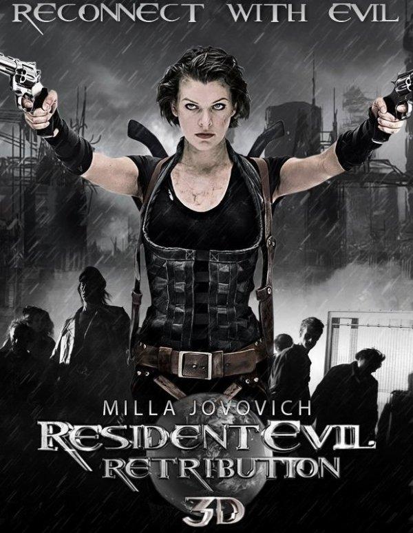 26 janvier 2013 : sortie du DVD Resident Evil Retribution