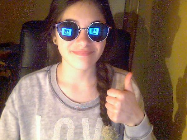 Mes nouvelles lunettes :3