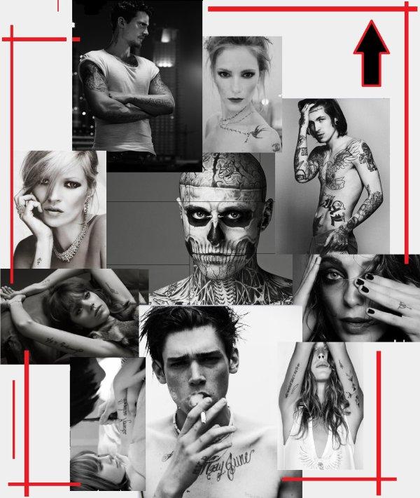 Le Tatouage et la mode °+