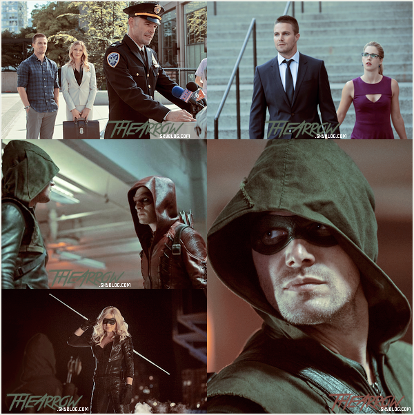 ║ SAISON 3 : Stills épisode 3x01. ║--------Habillage l Newsletter ➜ www.TheArrow.skyblog.com