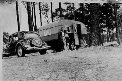 1952 avec la traction 11 Légère